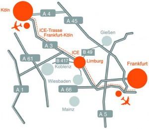 Beste Verkehrsinfrastruktur in Limburg Weilburg
